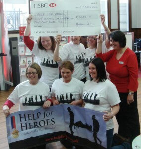 Help_for_Heroes T-shirts by Indigo in Manchester
