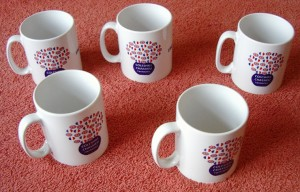 full colour branded mugs promotional gifts by Indigo
